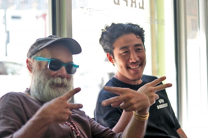 Skid Row Coffee co-founder Danny Park.