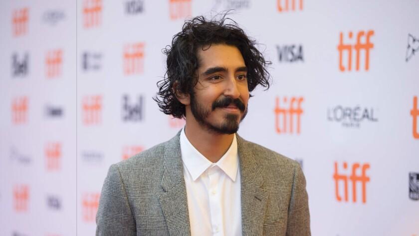 "Dev Patel walks the carpet for his new movie ""Lion"" at the Toronto International Film Festival this week."