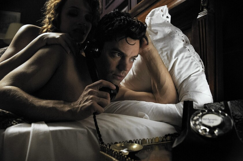 "Dominic Cooper stars as Ian Fleming in ""Fleming: The Man Who Would Be Bond."""