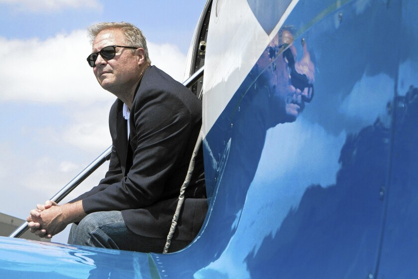 Jeff Potter is the chief executive of Surf Air, a members-only, luxury private jet service that offers unlimited trips throughout California.