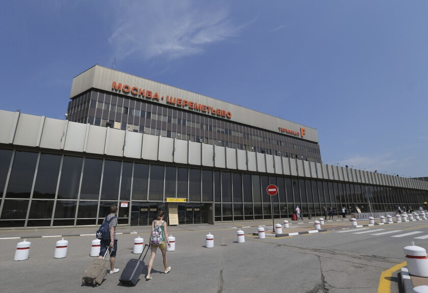 Moscow's Sheremetyevo airport, where NSA leaker Edward Snowden is believed to be holed up.