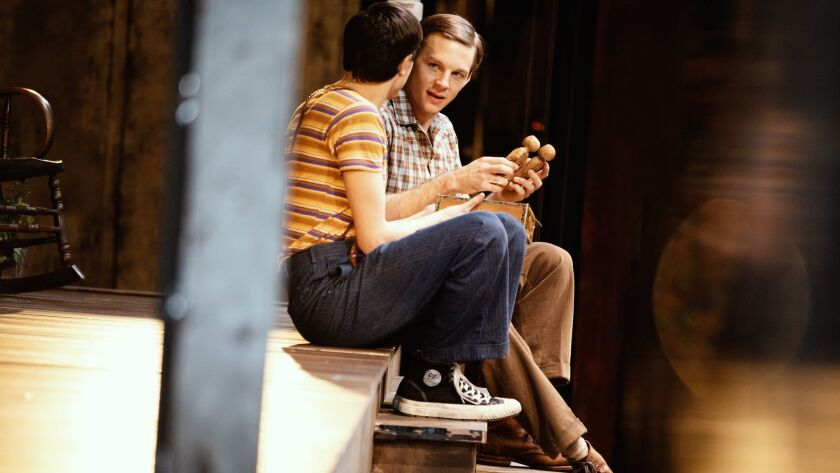 "Will Pullen and-Gideon Glick in Harper's Lee's ""To Kill a Mockingbird"" by Aaron Sorkin. -c-Julieta-C"