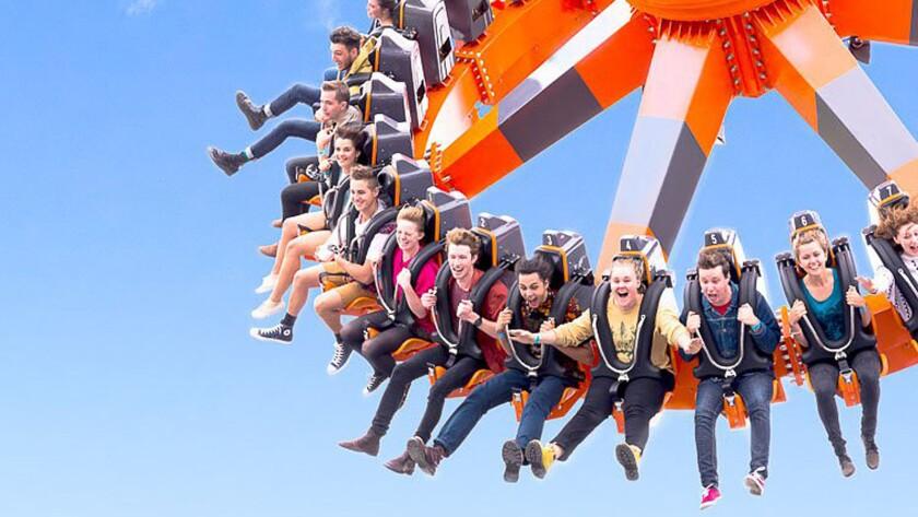 Alabama's Owa theme park will include a Zamperla pendulum swing thrill ride.
