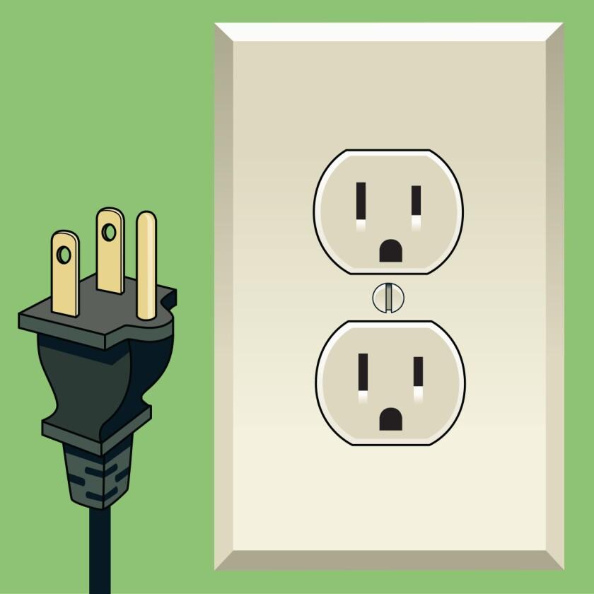 Type B plug and socket
