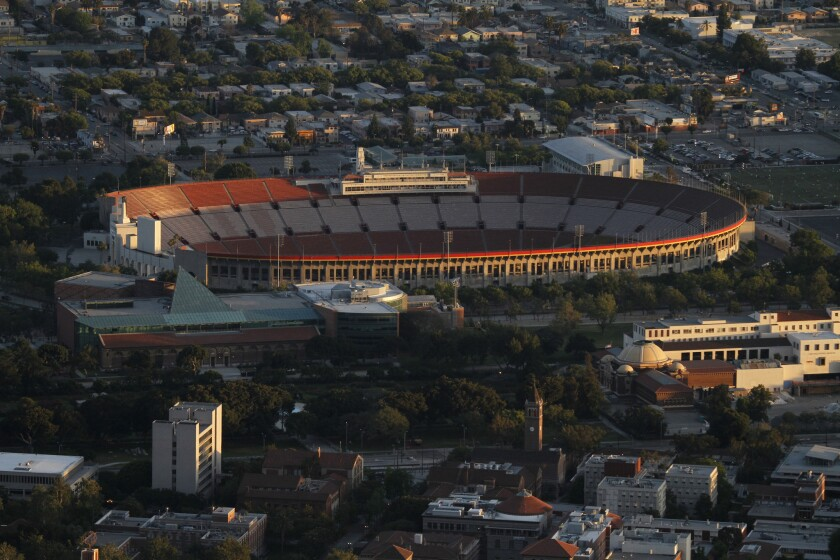 The Coliseum will be the main venue if Los Angeles hosts the 2024 Olympic Games.