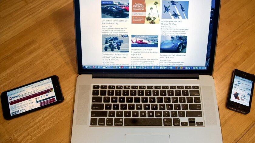 Computer & smartphones online
