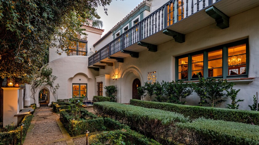 The Spanish-style Home of the Week, which dates to the 1920s, blends period good looks with modern comforts.