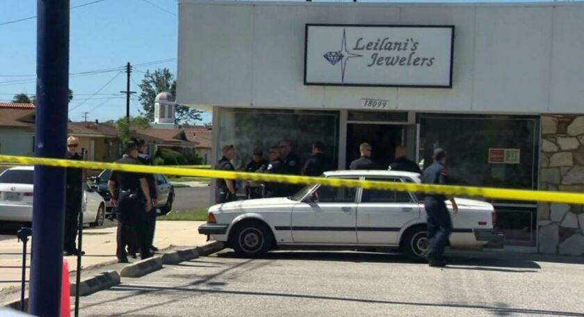 A fatal shooting occurred at Leilani's Jewelers in Torrance on Tuesday.