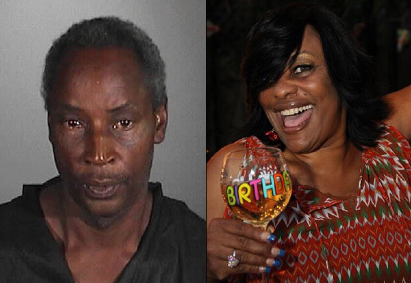 Steven Brown, left, was charged Wednesday with the murder of Kellye Taylor, right.