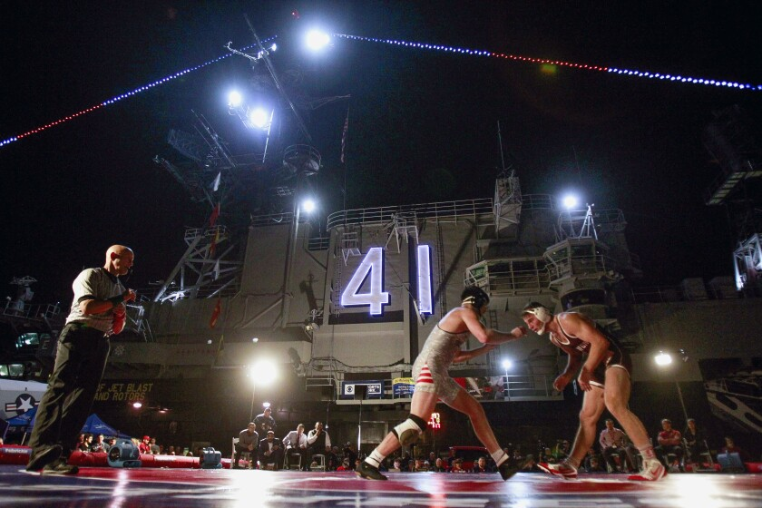 Battle on the Midway wrestling 2018