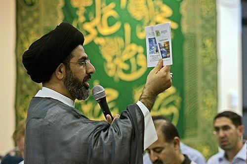 Hajj group leader