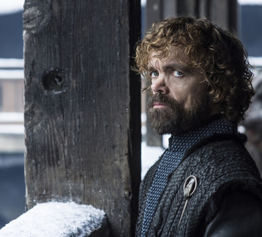 Season 8: Peter Dinklage portrays Tyrion Lannister on GAME OF THRONES photo: Helen Sloane/HBO