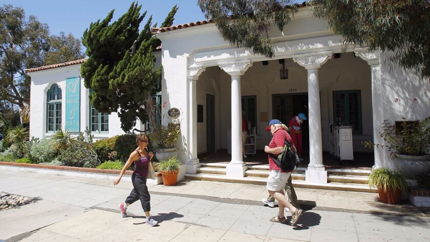 The Athenaeum Library in La Jolla one of 16 member-supported libraries in the nation.