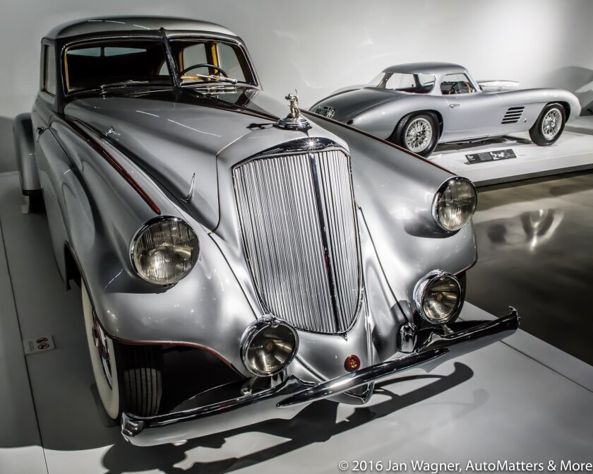 Priceless cars in the Precious Metal Gallery