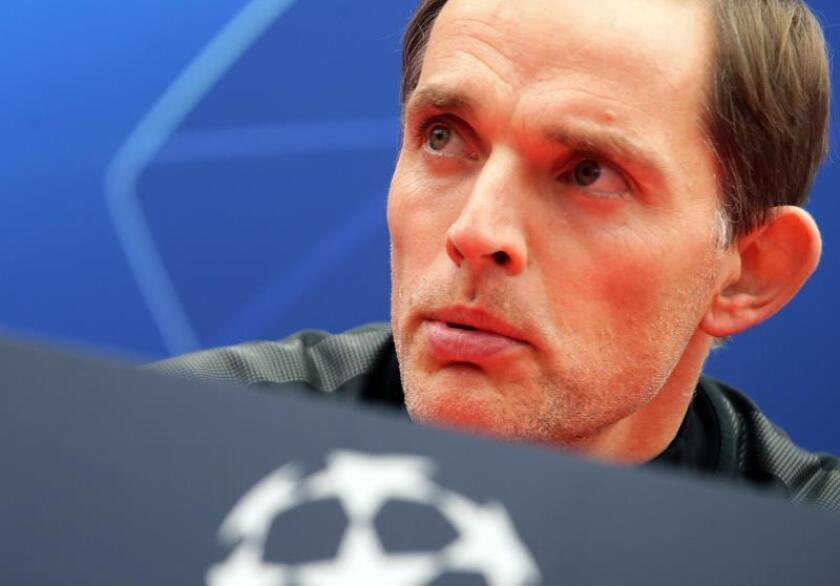 El entrenador del Paris Saint Germain, Thomas Tuchel. EFE/Archivo
