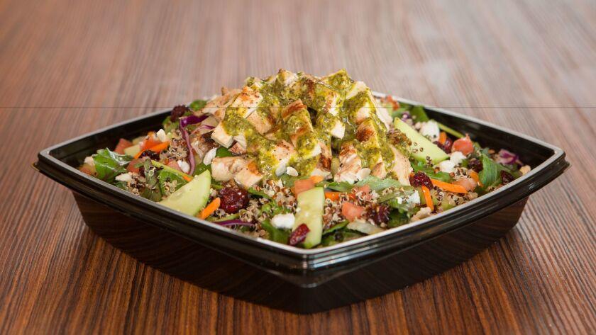 The Super Food Salad at The Habit.