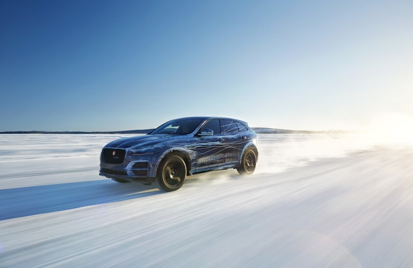 Jaguar hopes to attract a new generation of affluent millennial buyers to the brand with vehicles such as the F-Pace, its first crossover.