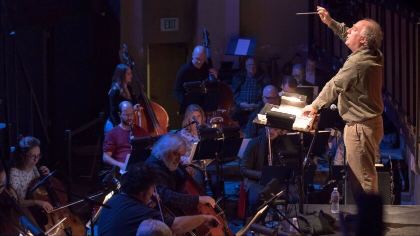 """Jeffrey Kahane conducting the Los Angeles Chamber Orchestra in """"Lost in the Stars."""""""