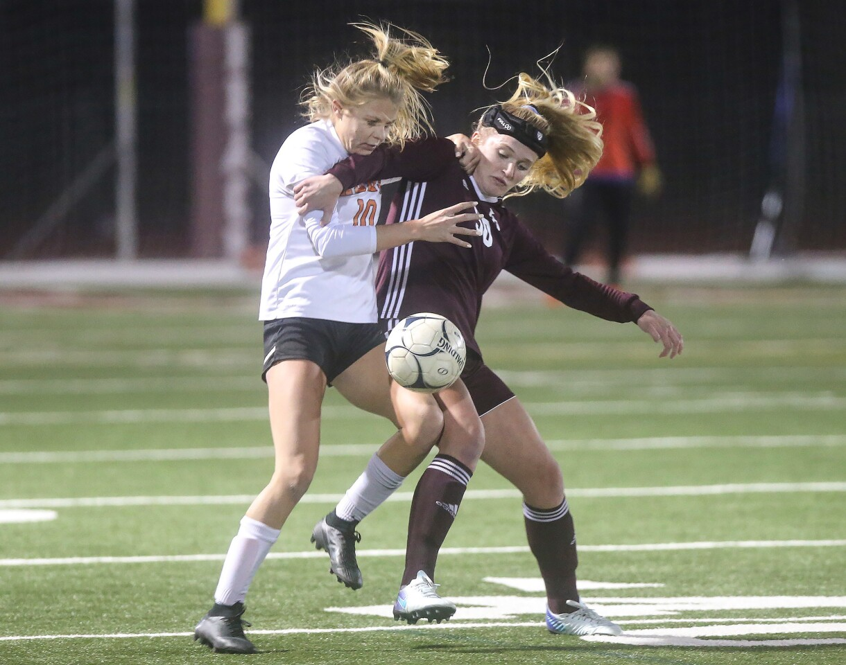 Photo Gallery: Laguna Beach vs. Huntington Beach in girls' soccer
