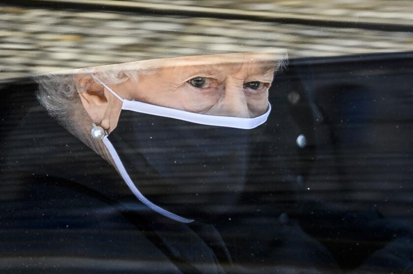 Queen Elizabeth II in Windsor, England