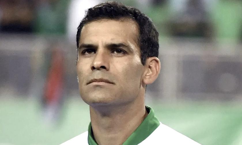 Rafael Márquez, ex futbolista mexicano.