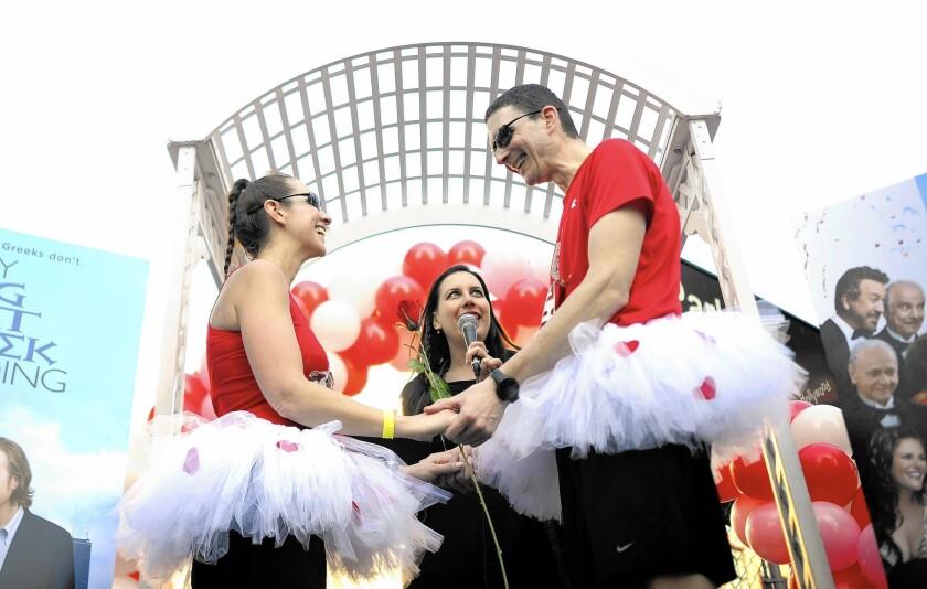 L.A. Marathon falls on Valentine's Day