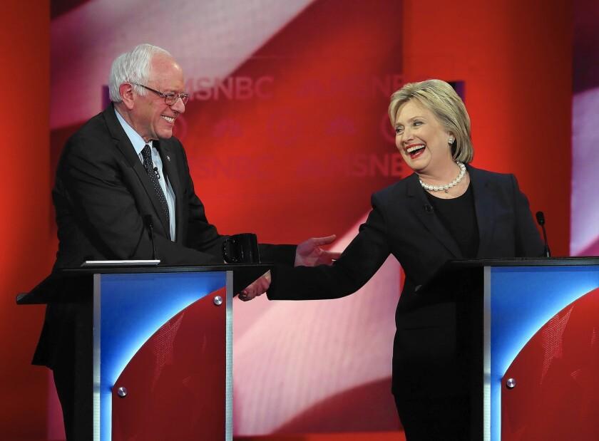 Democratic debate in New Hampshire