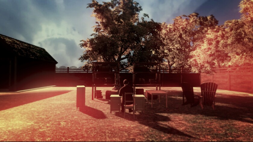 Artist Gabriel Barcia-Colombo has created digital memorials that include this virtual reality experience featuring imagery of his deceased grandfather.