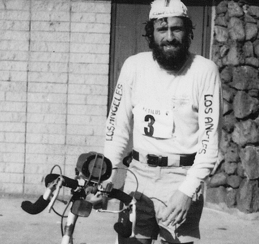Bob Babbitt at the 1980 Ironman World Championship
