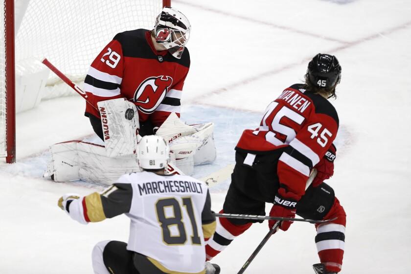 Golden Knights Devils Hockey