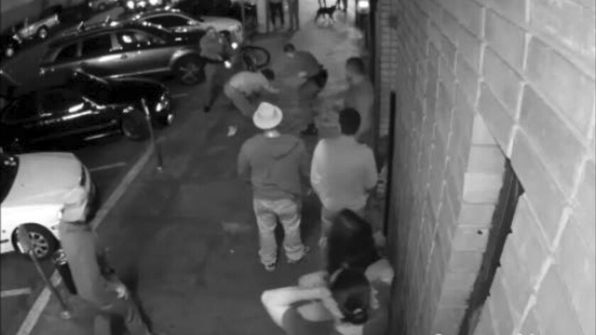 In this May 5, 2015 surveillance camera image released by the Los Angeles County District Attorney's