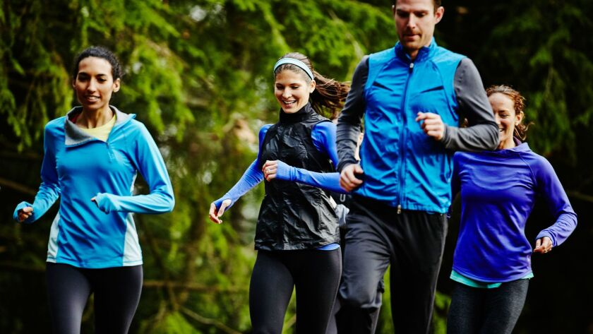 Data from digital fitness trackers combined with social network analyses reveal that one person's running habits can influence their friends' running habits.