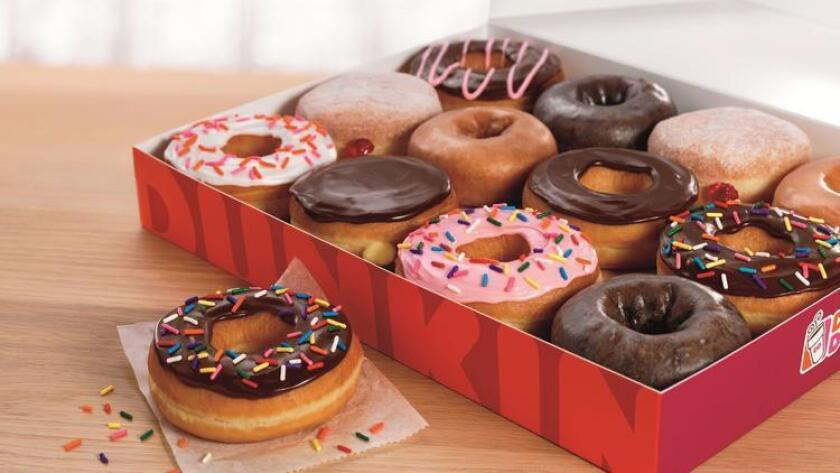 Dunkin' Donuts has a special offer on Friday, Nov. 3: free donuts with the purchase of any drink.