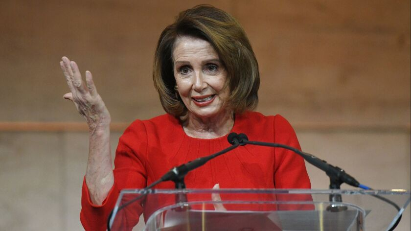 Trump says he could give Pelosi the House speakership