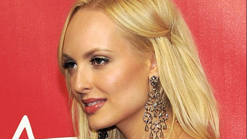 Former Playboy model Shera Bechard in Los Angeles in 2012.