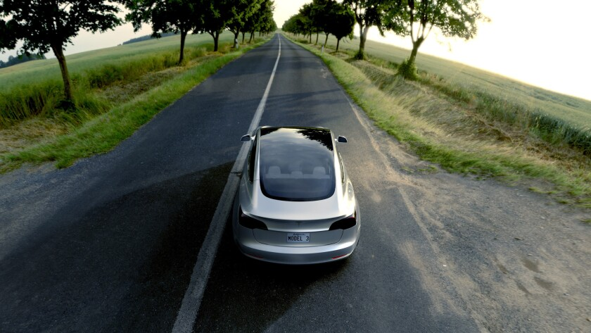 Tesla Careers Login >> Electric Vehicle Sales Rise In California It S Mostly Due