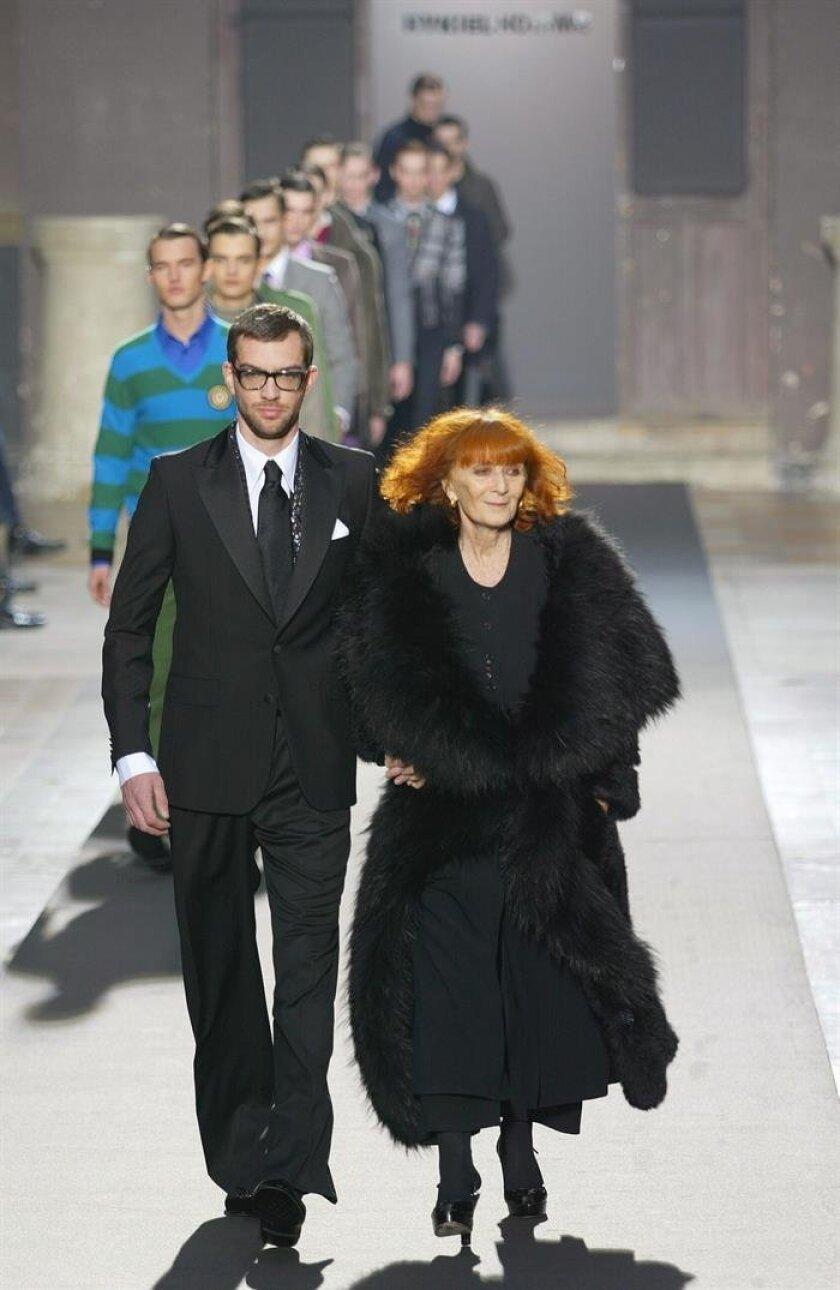 French Fashion Designer Sonia Rykiel The Queen Of Knitwear Dies At 86 San Diego Union Tribune En Espanol