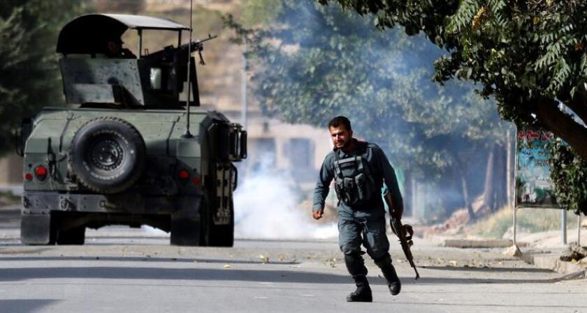 """Un soldado de la coalición internacional en Afganistán que opera en el marco de la operación """"Resolute Support"""" (Apoyo Decido) de la OTAN falleció hoy en un ataque perpetrado por un miembro de las fuerzas de seguridad afganas, según fuentes militares. EFE/Archivo"""