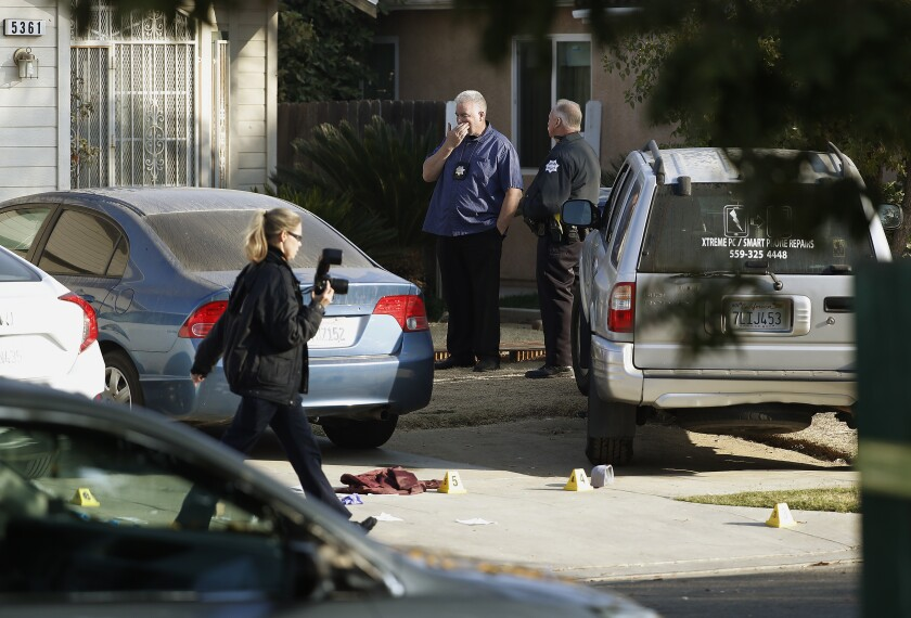 Four dead, ten wounded in shooting at party in Fresno