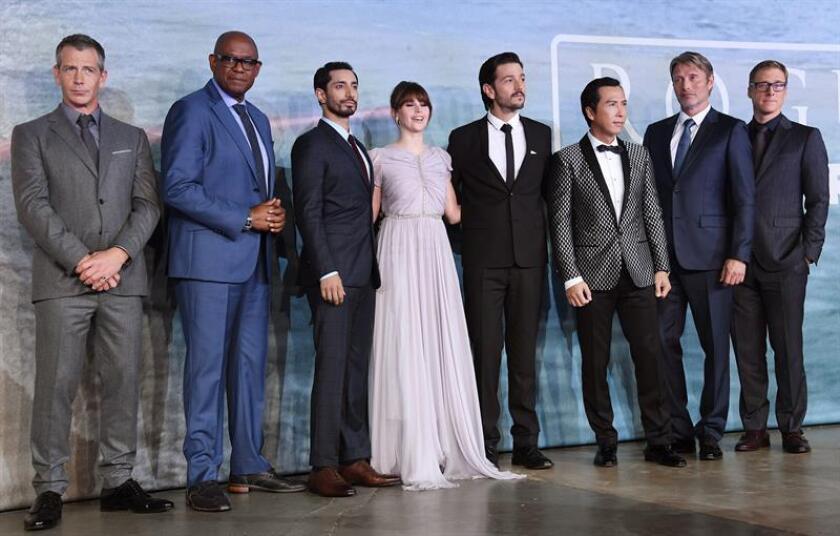 """""""Rogue One"""", el nuevo filme de la saga """"Star Wars"""", lideró la taquilla en su primer semana en la gran pantalla al anotarse uno de los mejores estrenos de 2016. EFE/ARCHIVO"""