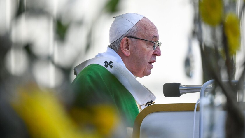 Pope Francis in Lithuania, Kaunas - 23 Sep 2018