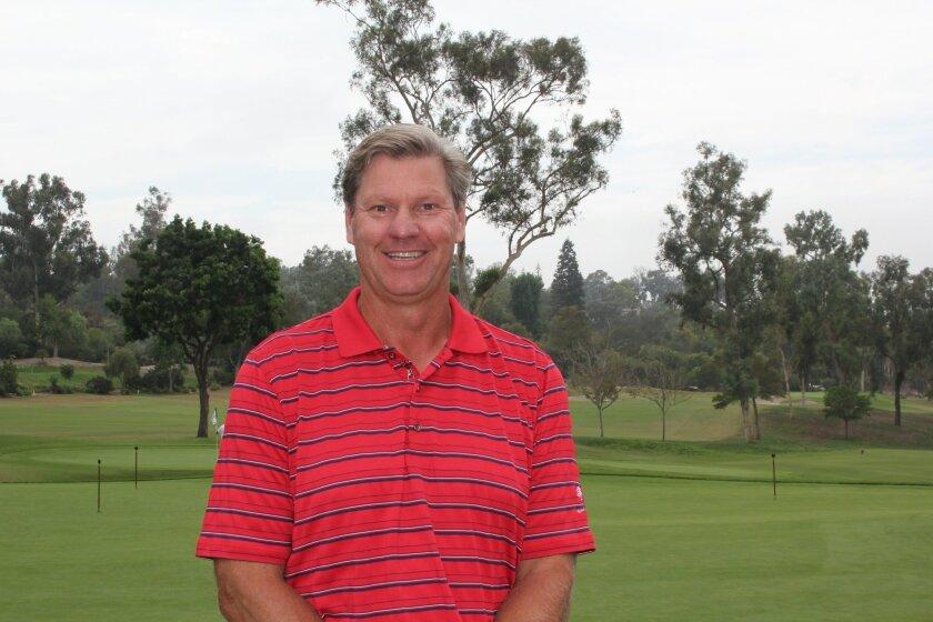 Scott Johnson is the Rancho Santa Fe Golf Club's new director of instruction. Photo by Karen Billing