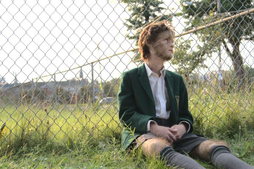 "Jaeden Martell plays an unusual teen in ""The True Adventures of Wolfboy."""