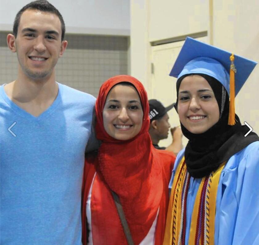 Muslim students killed