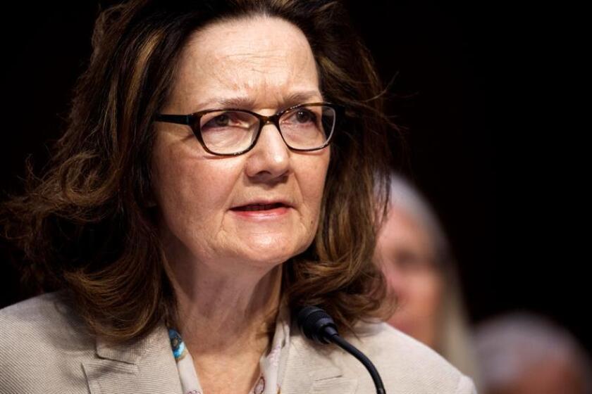 Fotografía que muestra a la directora de la CIA, Gina Haspel. EFE/Archivo