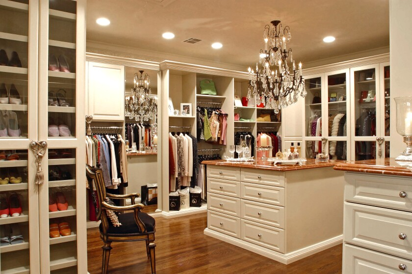 Details Organizing says many clients want specifically tailored cubbies for their clothing items.