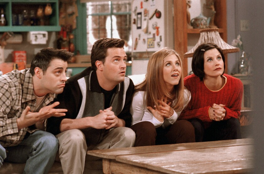 """Friends"" is leaving Netflix after Dec. 31."