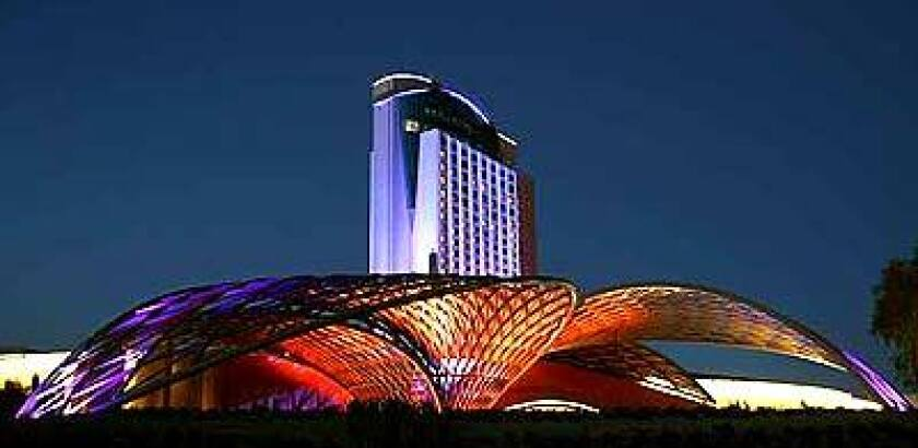 The new Morongo casino near Palm Springs is aiming for a younger, hipper crowd.