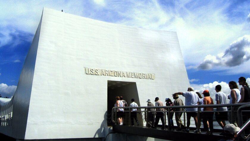 The U.S.S. Arizona Memorial