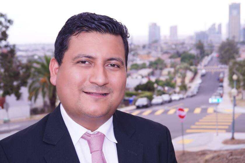 Christian Ramirez is a candidate in the San Diego City Council, District 8, race headed for the primary election on June 5.